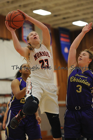 Monroe vs. Portland Christian Girls HS Basketball