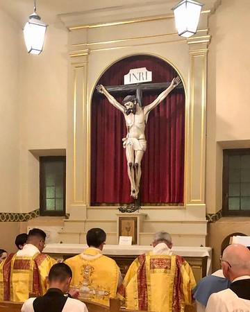 Mission Santa Clara Mass 2019 Catala Canonization Prayers