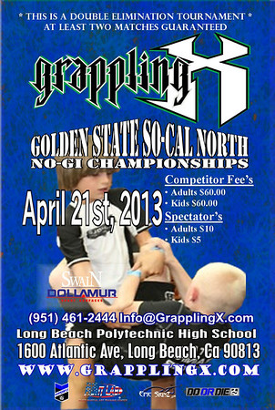April 21, 2013 Long Beach, CA NOGI Tourney