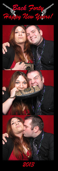 12-31 Back Forty BBQ - Photo Booth