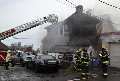 House fire -West Broad and Orange Rochester, NY - 4/10/21