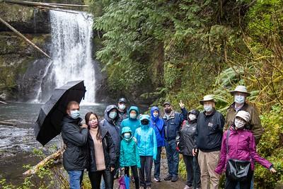 April SUV Waterfalls Galore Drive