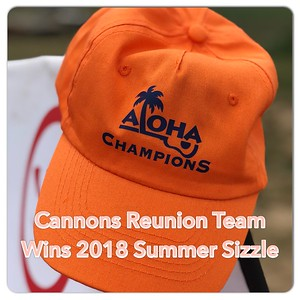 Cannons Reunion Team at Summer Sizzle