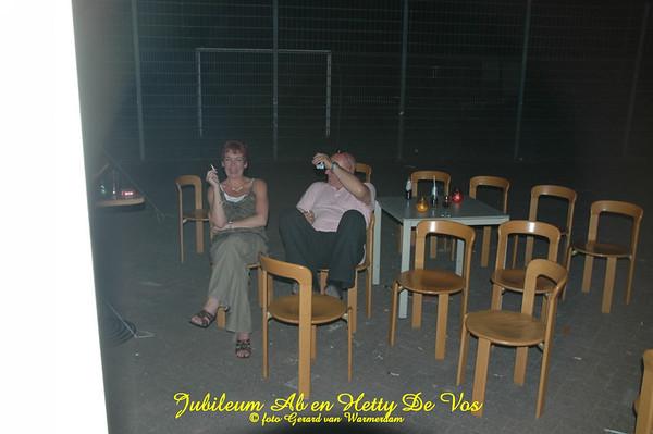2006 Jubileumfeest Ab en Hetty  25jr getrouwd