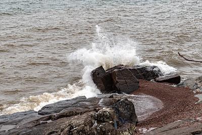 2021 03 26: Neighborhood Walk, Lake Superior