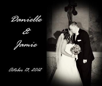 Danielle & Jamie 13x11 Wedding Album
