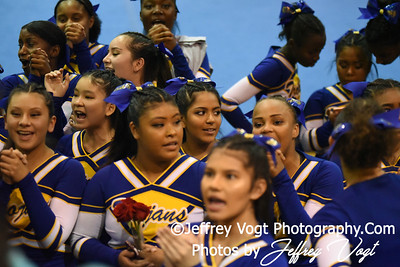 11-12-2016 Gaithersburg HS at MCPS Cheerleading Championship Division 2 at Montgomery Blair HS, Photos by Jeffrey Vogt Photography