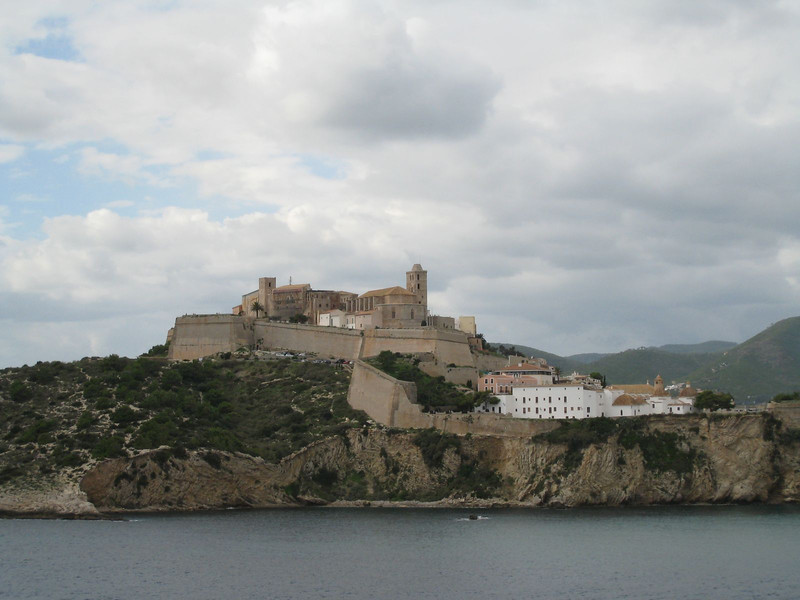 Ibiza, Spain - Old Town (D'Alt Vila) and Cathedral