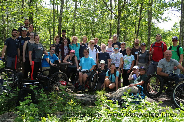2018-06-12 Trail Access Training with SLA & AmerCorps, GRIT Wheelchairs