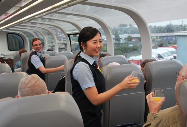 All Aboard the Rocky Mountaineer! Life on Board