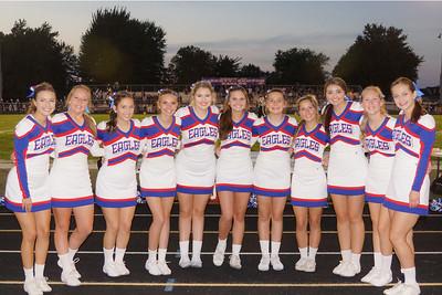 LB FB Cheerleaders @ Home Game (2018-08-31)