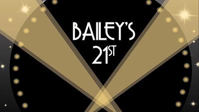 07.08 Bailey's 21st