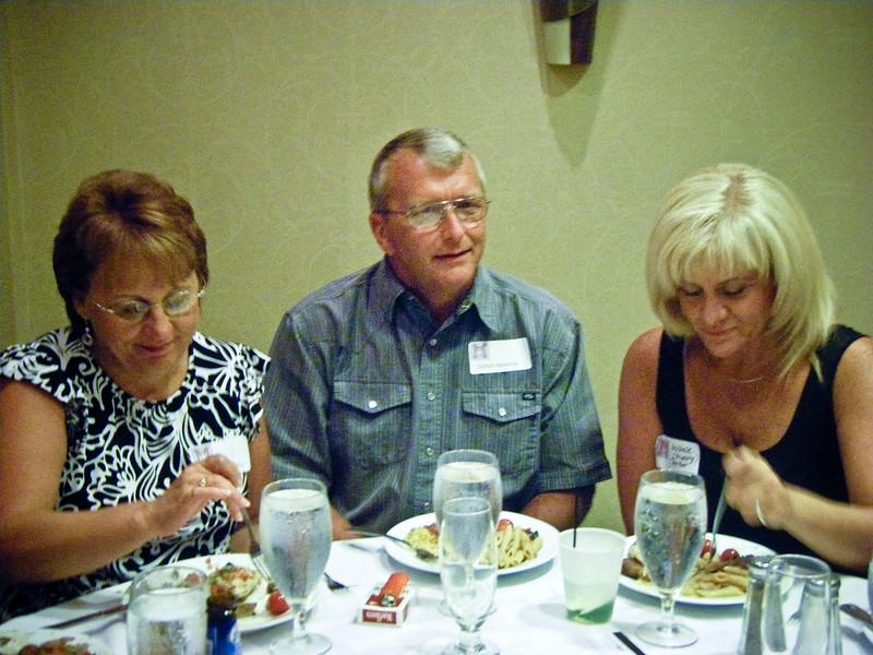 Gayle Reed Ridings, Daniel Ridings, Michele Murphy Mele (74)