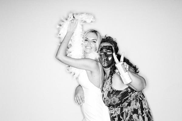 Black & White Images - Megan & Peter Get Married in Beaver Creek