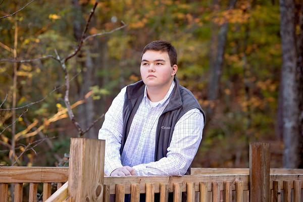 Dillon Calvin Senior Pictures