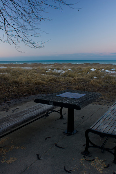 Wilmette Harbor, March 2014