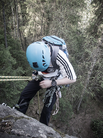 Rock climbing 20.5.2014
