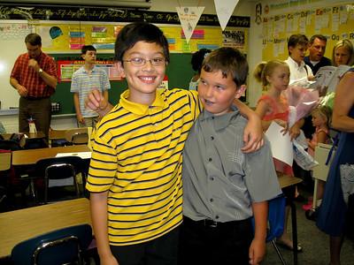 Max's elementary school graduation