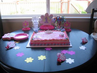 Kaitlyn's 1st Birthday August 2008