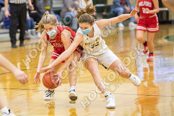 King Philip-Milford Girls Basketball - 01-24-21
