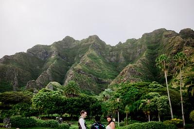 Jen + JJ Oahu Wedding Kualoa Ranch