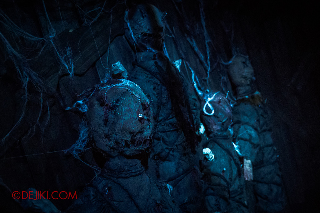 Halloween Horror Nights 7 - HEX haunted house / Voodoo dolls