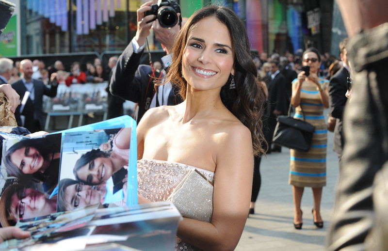 """. Actress Jordana Brewster attends the \""""Fast & Furious 6\"""" World Premiere at The Empire, Leicester Square on May 7, 2013 in London, England.  (Photo by Stuart C. Wilson/Getty Images for Universal Pictures)"""