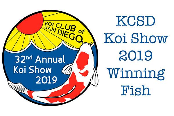 KCSD Koi Show 2019 Winners