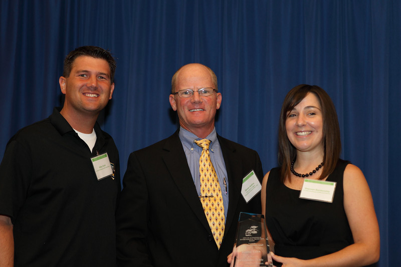 Rising Tides, represented by Mike Field and Shannon Blankenship, won the Community/Civic Environmental Achievement Award for engaging young professionals in conservation, sustainability, and environmental awareness.