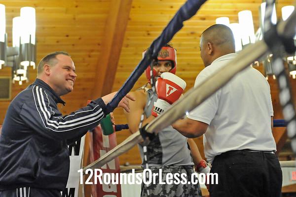 Bout 12 Jose Rodriguez, Akron -vs- Miguel Acevedo, Downtown B.C.-Lightsout 160 lbs