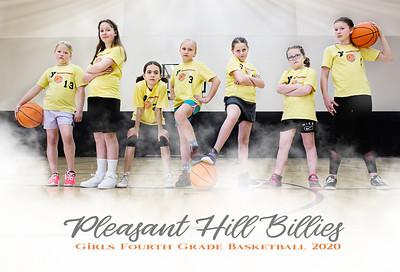 Pleasant Hill Girls 4th Grade Basketball