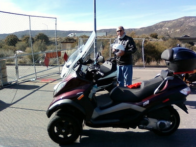 01/10/11 San Diego Scooter Squadron - Test Ride for Explore Old US 80! (In-Ko-Scoot)
