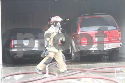 Fire on Rhea Pets Saved 7-18-2014