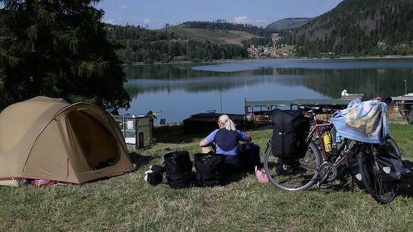 Slovakei Velo Tag6 - Di 16.7.19: Dedinky - Camping Rohoznà (bei Brezno), 81km