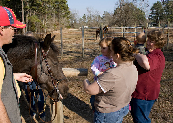 2010_03_05 Trip to Arkansas Horse Riding