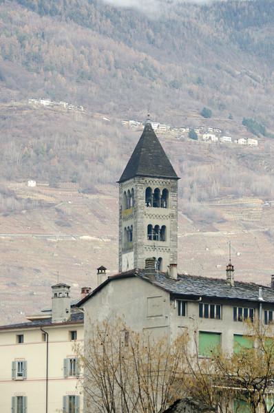 Clock Tower, Tirano, Italy