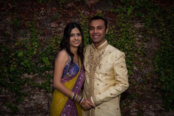 Vilpna Parth Engagement Photos