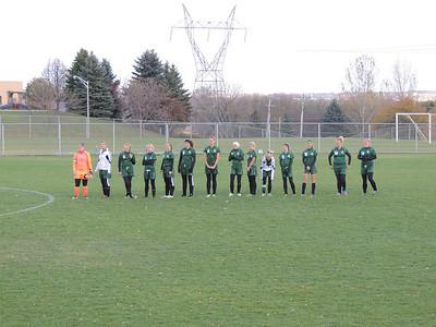 Warrior Girls Soccer vs Chaska MSHSL Tournament 10-9-12
