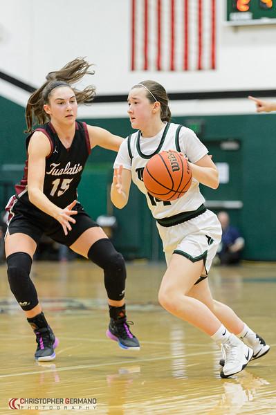 THS Varsity Girls  Basketball vs Tualatin