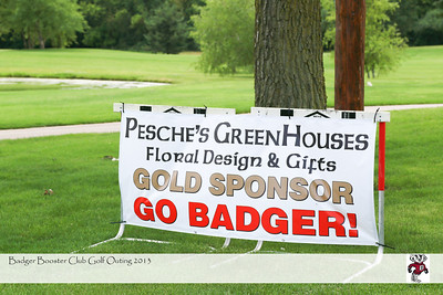 2013 Badger Booster club golf outing