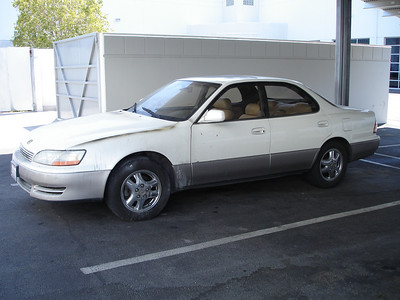1993 Lexus ES 300 - NEW Air Conditioning caught on FIRE at Newby's Auto, Las Vegas