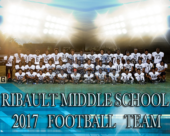 Ribault Middle  Football 2017
