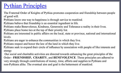 For Pythians