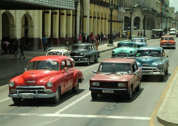Automobiles of Cuba 2017