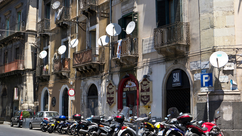 Dished out in Catania, Sicily