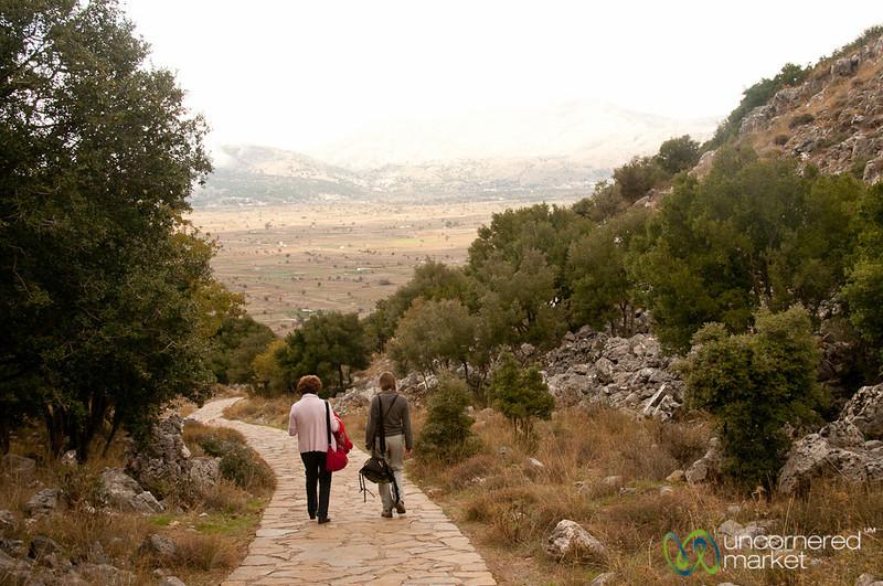 Zeus Cave Walking Path - Crete, Greece