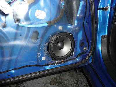 2002 Subaru Impreza WRX Sedan Front Speaker Installation - USA