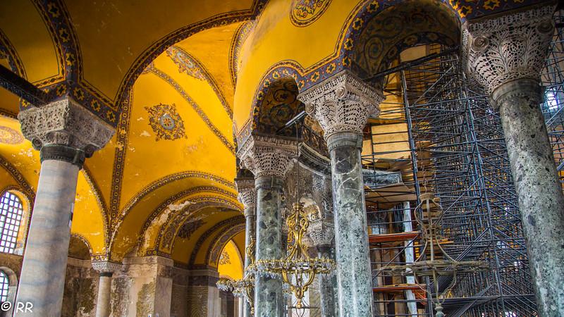 Second Level of Hagia Sophia