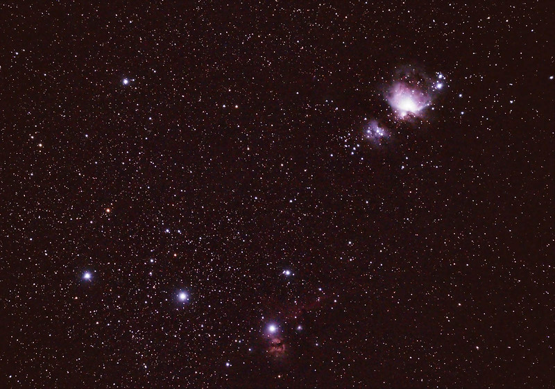 The Belt and Sword of Orion