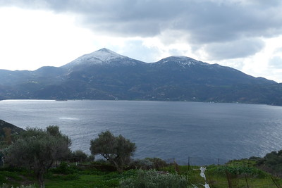 Jan 8/9 - Snow on Milos